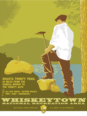 Whiskeytown- Designed for the National Park Service